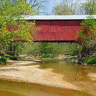Wilkins Mill Covered Bridge by Kenneth Keifer