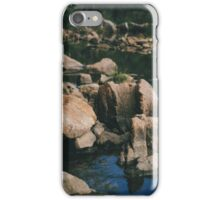 Tide pools. iPhone Case/Skin