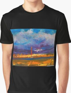 A cold foggy frosty winter's morning Kilmore VIC Australia  Graphic T-Shirt