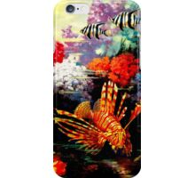 """AUSTRALIA GREAT BARRIER REEF"" Travel Print iPhone Case/Skin"