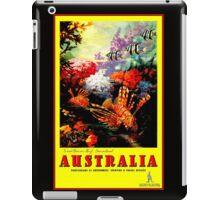 """AUSTRALIA GREAT BARRIER REEF"" Travel Print iPad Case/Skin"