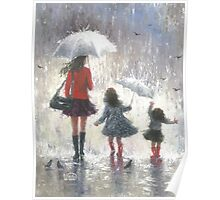 RAINY DAY WALK WITH MOM Poster