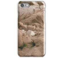 Apricot rocks. iPhone Case/Skin