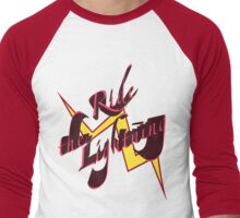 Ride the Lightning Men's Baseball ¾ T-Shirt