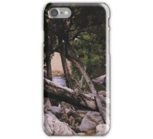 Distant stream. iPhone Case/Skin