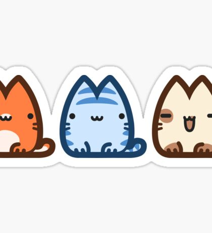Three Tails Sticker