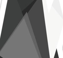 fractal geometric emperor penguin Sticker