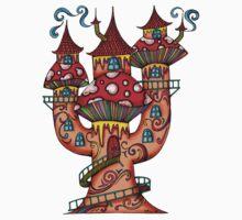 Mushroom House IIII by Octavio Velazquez