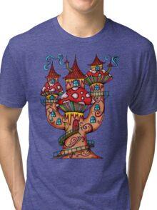 Mushroom House IIII Tri-blend T-Shirt