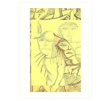 same sex mirage Art Print