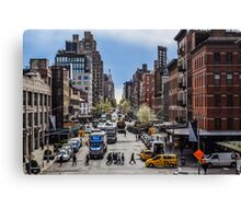 New York street Canvas Print