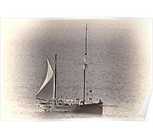 Topaz Boat .......... Poster