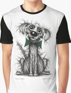 Fuzzy dog Graphic T-Shirt
