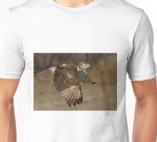 Red-tailed Hawk in Flight Unisex T-Shirt