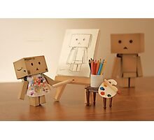 Danbo found being painted in the nude, to be a very liberating experience Photographic Print