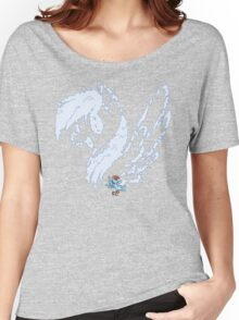 Rainbow in the Clouds T-Shirt Women's Relaxed Fit T-Shirt