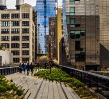 The High Line, New York Sticker