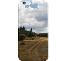 Late Summer Meadows and Haystacks iPhone Case/Skin