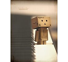 The key of Danbo Photographic Print