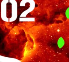 Galaxy Eva 02 Sticker
