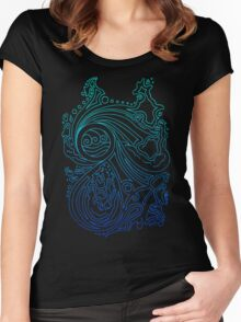 Water Spirit. Women's Fitted Scoop T-Shirt