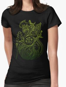 Earth Spirit. Womens Fitted T-Shirt