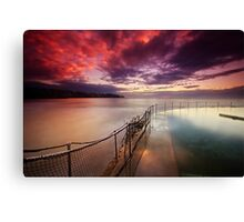 Bronte Tidal Pool Canvas Print