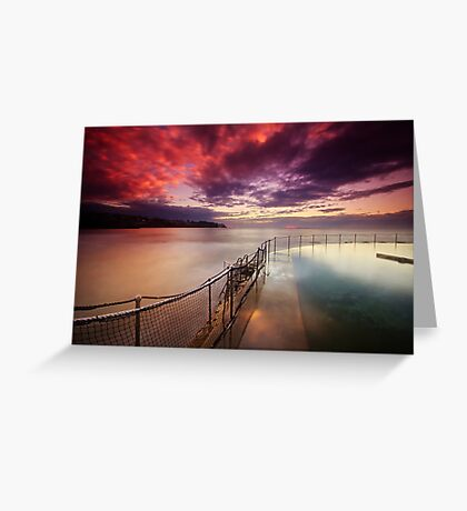 Bronte Tidal Pool Greeting Card