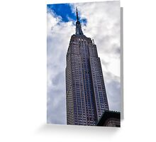 Empire States Building  Greeting Card