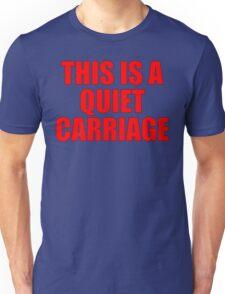 Quiet Carriage Unisex T-Shirt