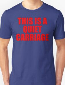 Quiet Carriage T-Shirt