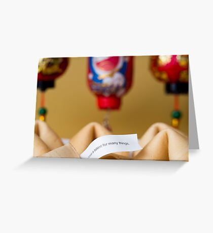 The Fortune Cookie [6/52] Greeting Card