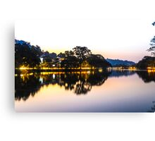 Reflection of the Eve Canvas Print