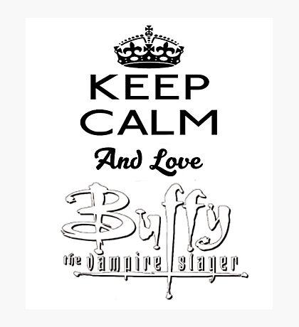 Love Buffy  Photographic Print