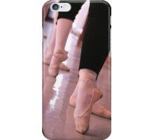 Ballet. Barre. Tendu iPhone Case/Skin