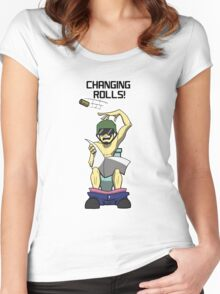 Changing Rolls Women's Fitted Scoop T-Shirt