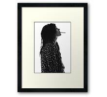 Alison Mosshart Framed Print