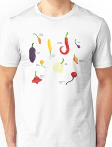 Chilies Galore! Unisex T-Shirt