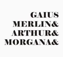 Merlin names One Piece - Long Sleeve