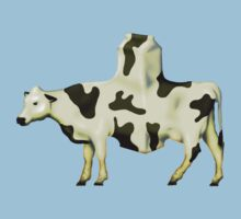 SURREALISM - Cow Product  One Piece - Short Sleeve