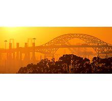 Steel Sunset Photographic Print