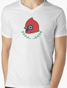 Cardinal  Mens V-Neck T-Shirt