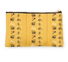 Bumble Bee Pattern Studio Pouch