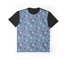 Scribble (Blue) Graphic T-Shirt