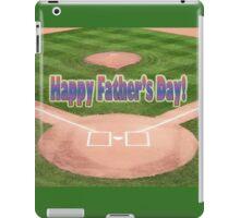 Happy Father's Day Baseball iPad Case/Skin