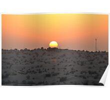 Dubai Desert Sunset - 2 Poster