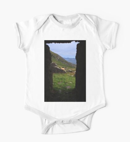 View From A Lighthouse Ruin  One Piece - Short Sleeve