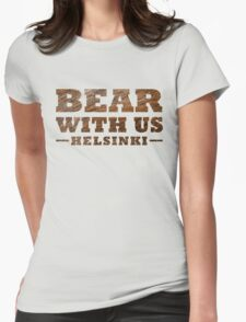 Bear With Us Helsinki Hairy Logo T-Shirt