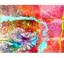 Inspired by Hunderwasser 1 Photographic Print