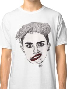 Miley with Red Lips Classic T-Shirt